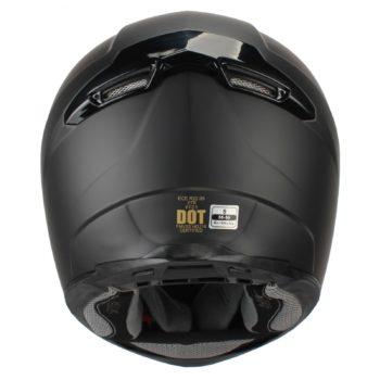 Шлем интеграл FFE1 черный матовый фото 2
