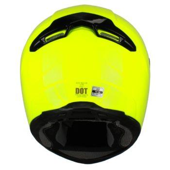Шлем интеграл FFE1 флуоресцентно-желтый фото 2