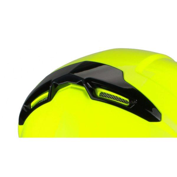 Шлем интеграл FFE1 флуоресцентно-желтый фото 3