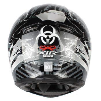 Шлем интеграл FFE1 Hazard graphic серый фото 2