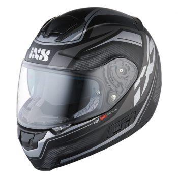 Шлем интеграл HX 215 Zenium черно-серый фото 1