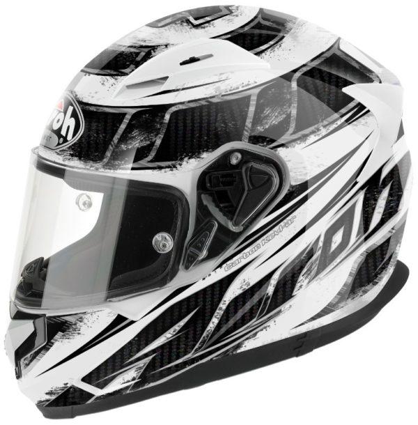 Шлем интеграл T600 KNIFE белый фото 1