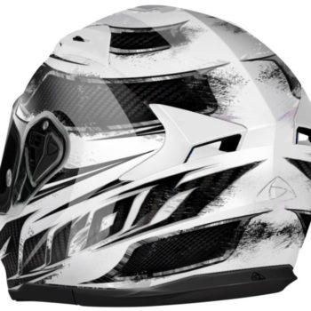 Шлем интеграл T600 KNIFE белый фото 2
