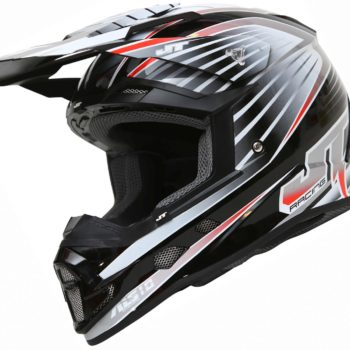 Шлем кроссовый  ALS1.0 черно-серый фото 1