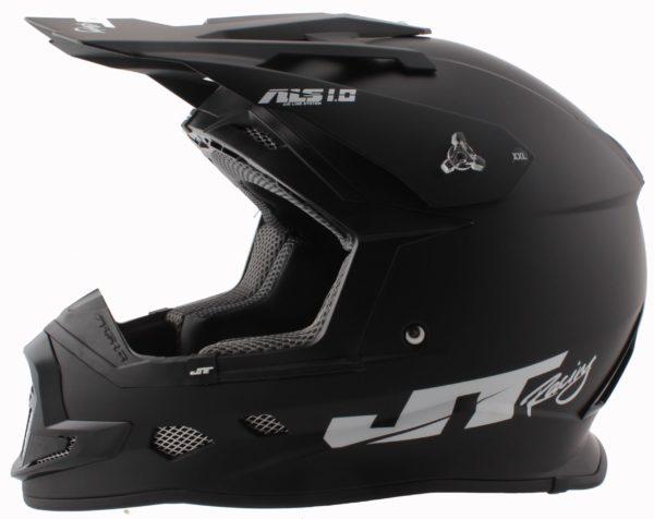 Шлем кроссовый  ALS1.0 черный фото 1