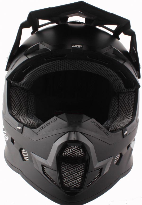Шлем кроссовый  ALS1.0 черный фото 4