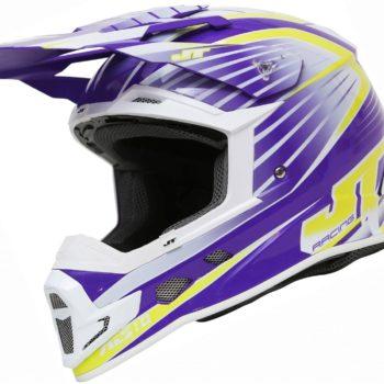 Шлем кроссовый  ALS1.0 фиолетовый фото 1