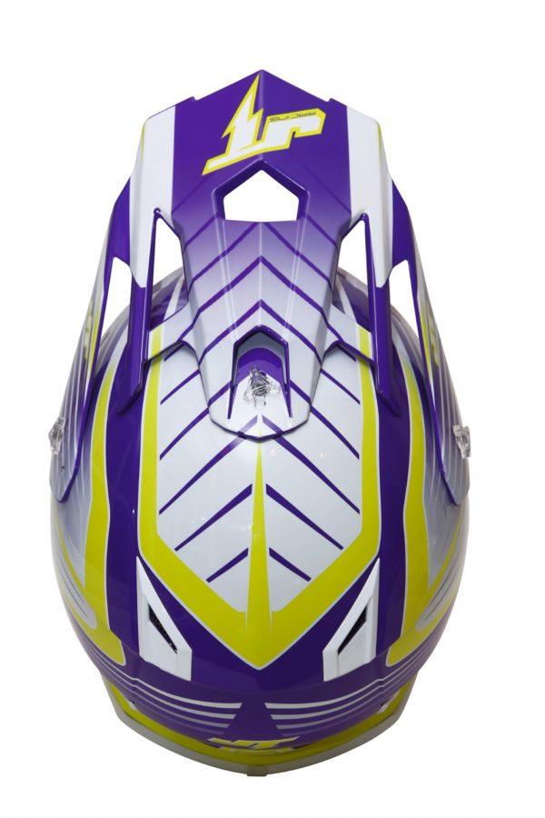 Шлем кроссовый  ALS1.0 фиолетовый фото 3