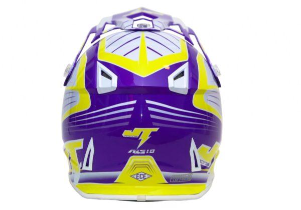 Шлем кроссовый  ALS1.0 фиолетовый фото 4