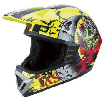 Шлем кроссовый HX276 SWORD красно-желтый фото 1