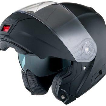 Шлем модуляр HX325 черный фото 2