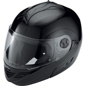 Шлем модуляр HX333 чёрный фото 1
