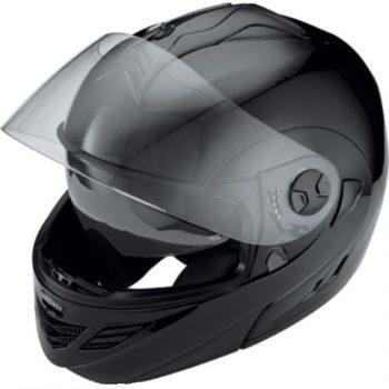 Шлем модуляр HX333 чёрный фото 2
