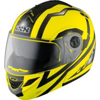 Шлем модуляр HX333 STROKE желто-черный фото 1
