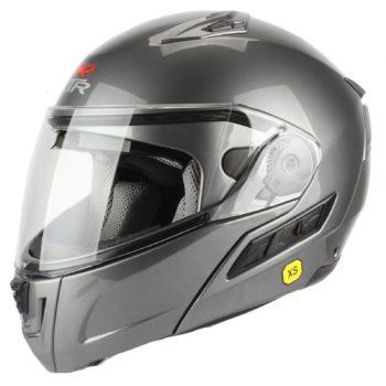 Шлем модуляр MODE1 серый фото 1