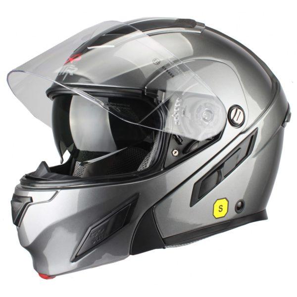 Шлем модуляр MODE2 серый фото 2