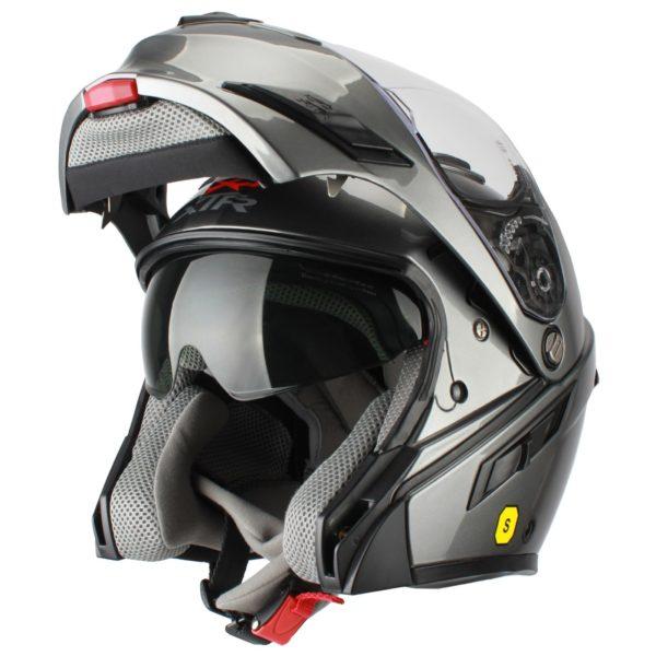 Шлем модуляр MODE2 серый фото 3