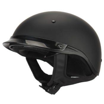 Шлем открытый  HDV1 черный матовый фото 1