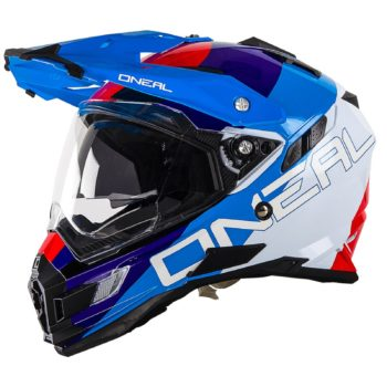Шлем Sierra Adventure Helmet EDGE красный/синий/белый фото 1