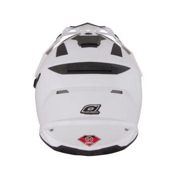 Шлем Sierra белый с пинлоком+дефлектор дыхания фото 2