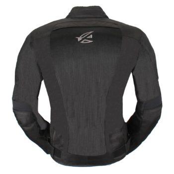 Текстильная куртка Jerez черная фото 2