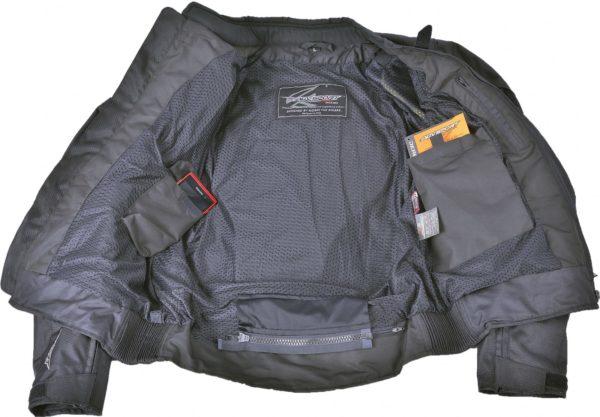 Текстильная куртка Jerez черная фото 3