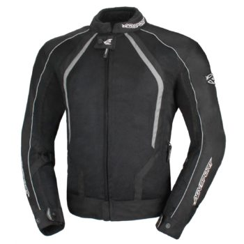 Текстильная куртка Solare II чёрная фото 1
