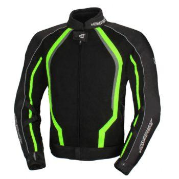Текстильная куртка Solare II чёрная/флуоресцентно-желтая фото 1