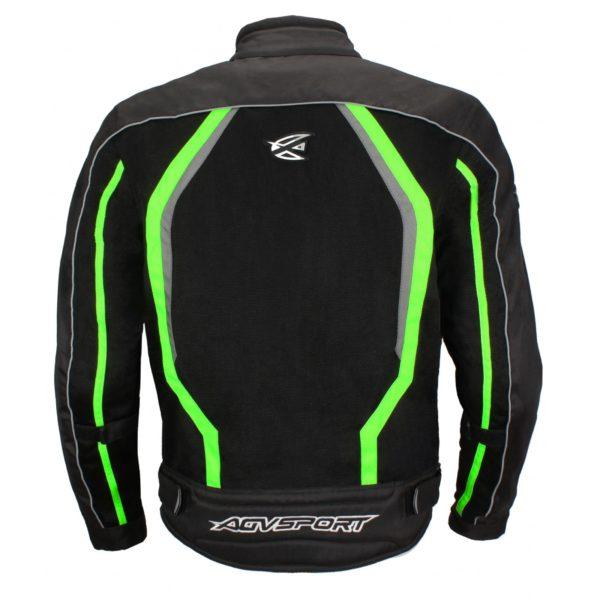 Текстильная куртка Solare II чёрная/флуоресцентно-желтая фото 2