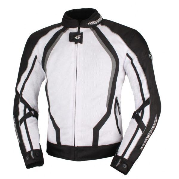 Текстильная куртка Solare II чёрно-белая фото 1