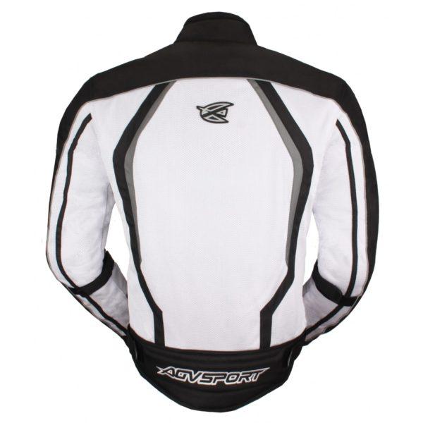 Текстильная куртка Solare II чёрно-белая фото 2