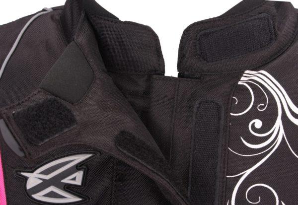 Текстильная женская куртка Mistic черно-розовая фото 4