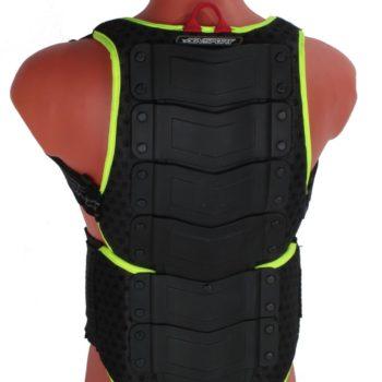 Защита спины флуоресцентно зеленая фото 1