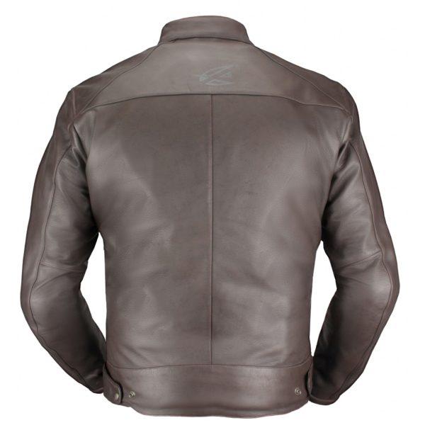 Кожаная куртка Brut коричневая фото 2
