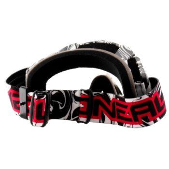 Кроссовая маска B-Flex HENDRlX черно-белая фото 2
