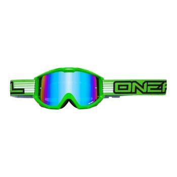 Кроссовая маска B1 RL FLAT зеленая/радиум фото 1