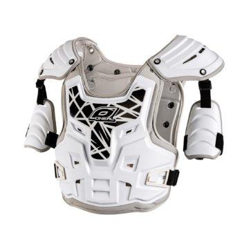 Кроссовая защита тела PXR Stone Shield белая фото 1