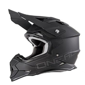Кроссовый шлем 2Series FLAT черный фото 1