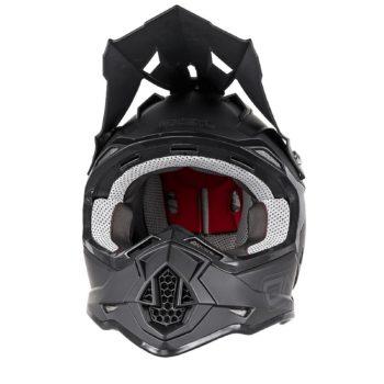 Кроссовый шлем 2Series FLAT черный фото 2