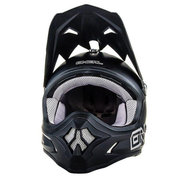 Кроссовый шлем 3Series MATTE чёрный фото 2