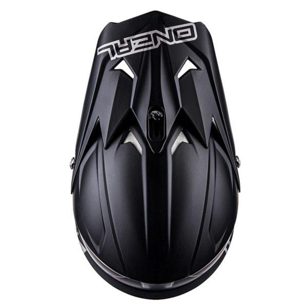 Кроссовый шлем 3Series MATTE чёрный фото 3
