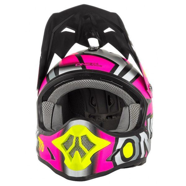 Кроссовый шлем 3Series RADIUM розовый фото 2