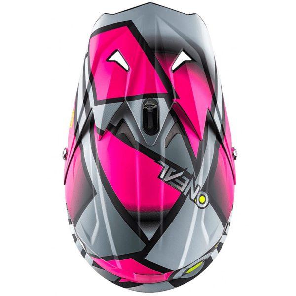 Кроссовый шлем 3Series RADIUM розовый фото 3