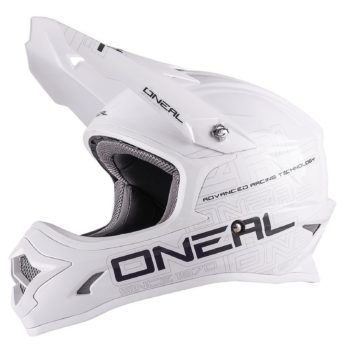 Кроссовый шлем 3Series SOLID белый фото 1