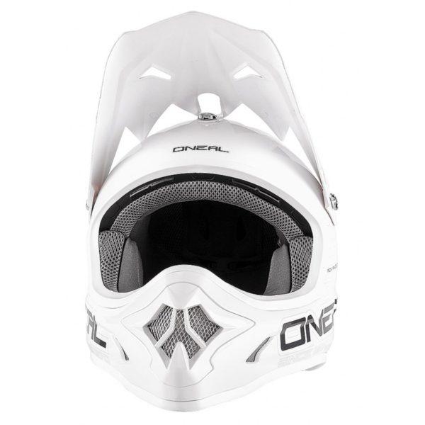 Кроссовый шлем 3Series SOLID белый фото 2