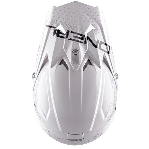 Кроссовый шлем 3Series SOLID белый фото 3