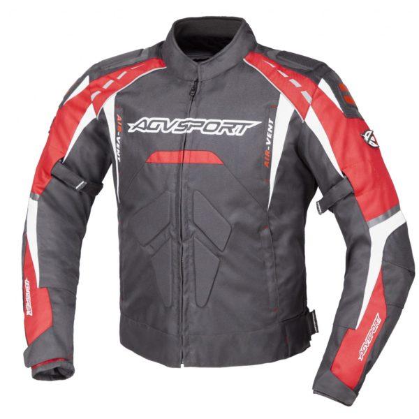 Куртка текстильная SUBWAY черно-красная фото 1