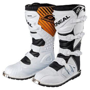 Мотоботы кроссовые Rider Boot белые фото 1