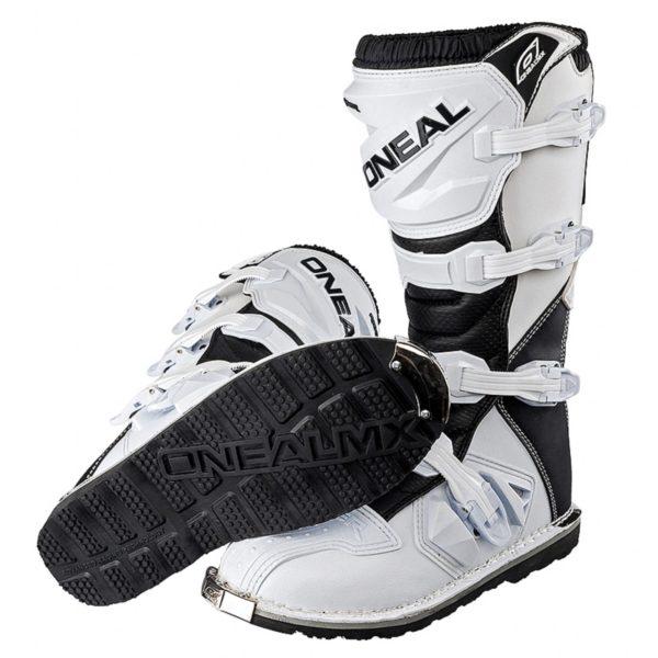 Мотоботы кроссовые Rider Boot белые фото 2