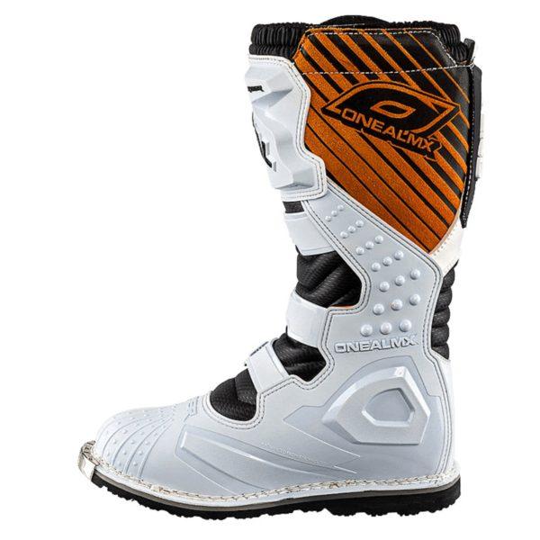 Мотоботы кроссовые Rider Boot белые фото 3